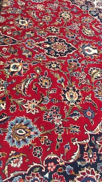 Red, white, and blue floral area rug 9/14 feet's Coquitlam, V3C 2L1