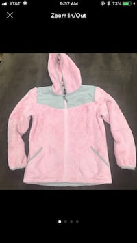 The North Face pink jacket size Large Syosset, 11791