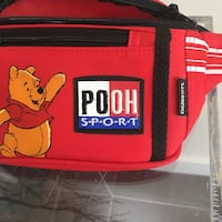 Winnie the Pooh bumbag/fannypack in red perfect for festivals  Oakville, L6L 3M8