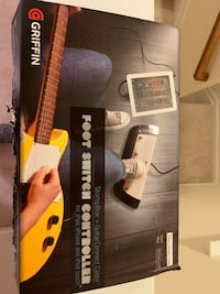 Switch foot guitar controller for iPad- new open box Charlotte, 28278