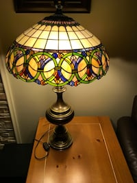 Stained glass lamp Repentigny, J6A