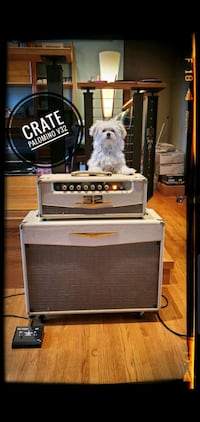 Crate Palomino V32 head and cabinet