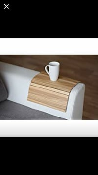 Arm rest tray - wooden Vaughan, L4J