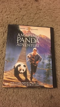 The Amazing Panda Adventure DVD case