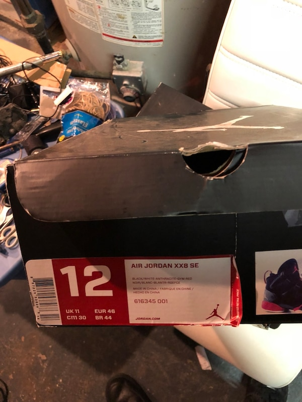 newest 3d643 97708 Used sized-12 Air Jordan 28 SE shoe box for sale in New York - letgo