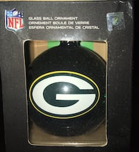 New Green Bay Packers Christmas Ornament nfl memorabilia collectible Milwaukee, 53225