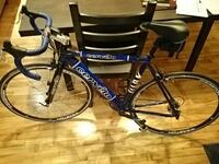 blue and black bicycle cervelo (almost brand new) Montreal, H2K 4G2