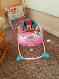 pink and teal Minnie Mouse activity walker Lake Dallas, 75065