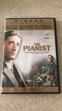 The pianist  DVD.