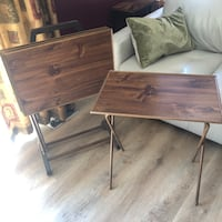 70s or 80s Vintage 4 TV Tables and Stand Winnipeg, R2V 2S6