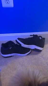 pair of black Air Jordan 11's Bristow, 20136