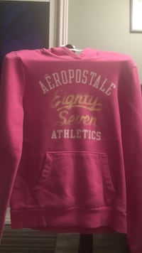 pink and white Aeropostale pullover hoodie St. John's, A1E 4K7