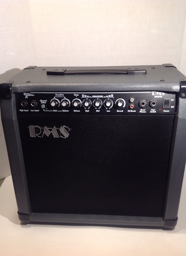 RMS RMSG40 GUITAR AMPLIFIER CLEAN CONDITION READY TO JAM! 1ee293cd-51d7-4ad2-a8cd-904982651c8d