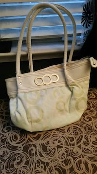 gray monogrammed Coach handbag Richmond, 94804