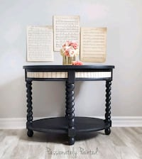 Music sheet coffee accent table  Barrie