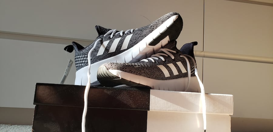 Adidas running shoes-size 8 56288c0a-ef70-4c26-ad10-ae46bd6ad7be