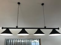 black and white ceiling lamp Port Saint Lucie, 34952
