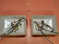 Undermount bathroom sinks with faucets $100 each