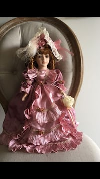 doll wearing pink ruffled dress Woodbridge, 22191