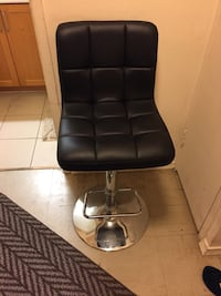 Nice black and silver bar style chair Toronto, M9N 2R6