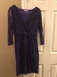 Ricki's Women's Purple Lace Dress For Sale Regina, S4V