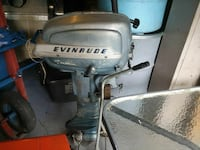 gray and black Evinrude outboard motor Harrison, 48625