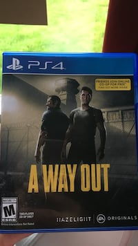 Sony PS4 A Way Out Aberdeen, 45101