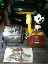 Mickey mouse phone and toaster vintage Chester County, 19362