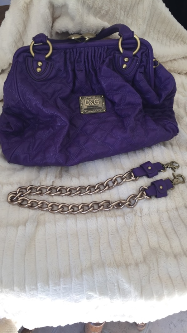 4e4438e42c27 Used dolce and gabbana purple hobo bag for sale in Fort Mill - letgo