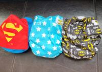 3 Bumkins: snap-in-one/Superhero NEVER USED (brand new) cloth diapers Milton, L9T 6T6