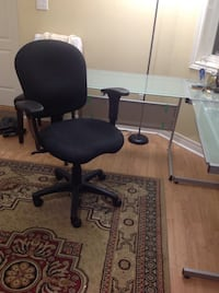 Glass study table and chair  551 km