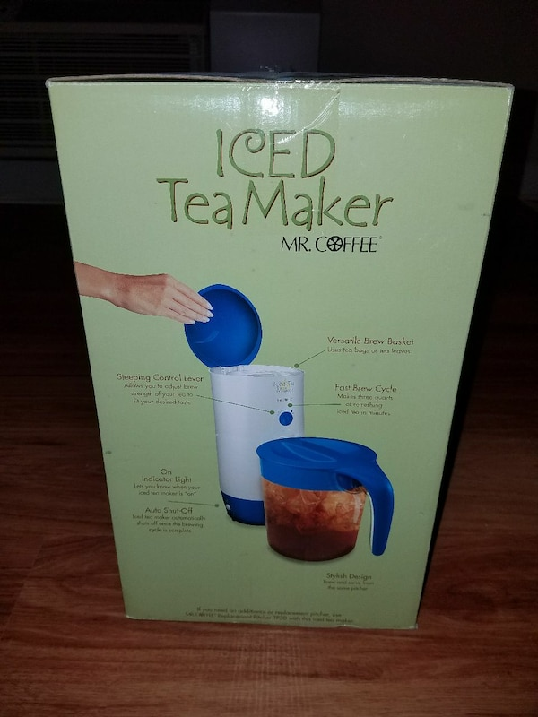 Mr. Coffee Iced Tea maker - brand new! ff85a278-e2d9-40b1-a62b-408039e0e47c