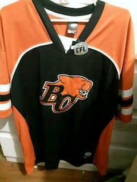 CFL bc lions Jersey  tg/xL