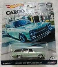 NISSAN SKYLINE WAGON C10  HOT WHEELS CARGO CARRIERS DIECAST Vaughan, L4L 1V3
