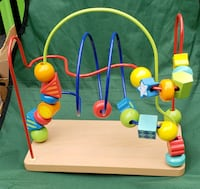 BABY BEAD TOY- very clean Millbrook, 12545
