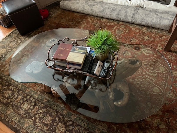 Must sell by Wed  Grapevine -Old Vines Coffee Table authentic, elegant f658a870-161a-4442-8250-9e43ebb179b5