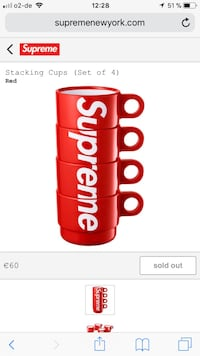 Supreme Stacking Cups 4 Set München, 81929