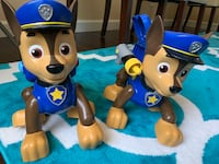 Paw patrol mission Chase talking dogs toy