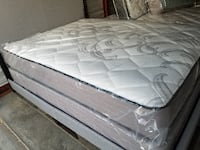 "New extra tick 10"" mattress set Las Vegas"