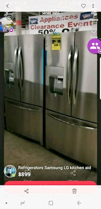 stainless steel french door refrigerator St. Peters