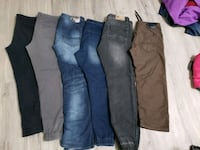 all 6 pairs of Jean's,  parasuco, buffalo and blue notes.  Edmonton, T5B 3R8