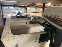 15 Aluminum Boat and motor and trailer   Good condition. $700 for all Centerport, 11721