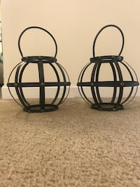 Metal Candle Holder Pair - $50 OBO Silver Spring, 20910