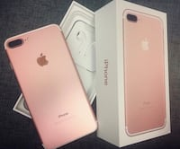 Iphone 7 plus Rose Gold 128 GB  3118 km