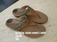 pair of brown leather sandals Edmonton, T5A 3R1
