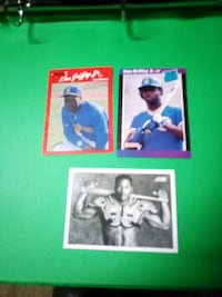 two baseball player trading cards Bend, 97702