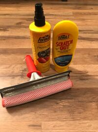 Car wash and scratch kit