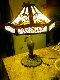 black and white table lamp Tempe