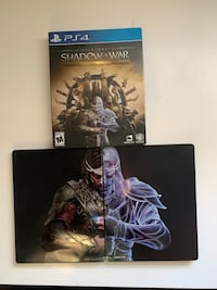 SHADOW OF WAR: GOLD EDITION  METAL DISK CASE