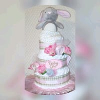 baby shower diaper cake Brampton